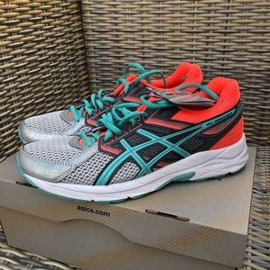 ASICS Gel Gym Shoes Trainers 8.5 NEW Neon Contend
